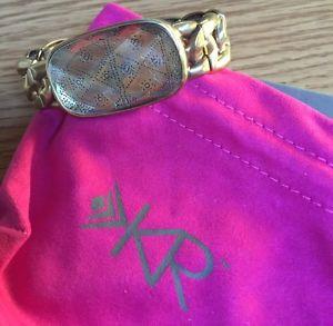 【送料無料】ブレスレット アクセサリ― ストレッチブレスレットラインsilpada edgy stretch bracelet kr line krb0109