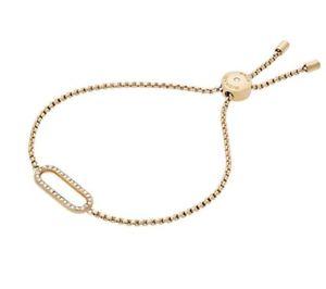 【送料無料】ブレスレット アクセサリ― リンクブレスレット listingmichael kors gold plated iconic links brilliance bracelet mkj6952710