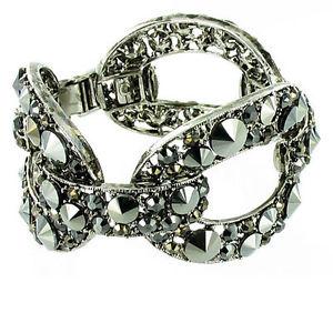 【送料無料】ブレスレット アクセサリ― リンクブレスレットcrystal link bracelet more colours available