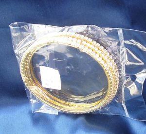 【送料無料】ブレスレット アクセサリ― クリスタルドルブレスレットセットcrystal bracelets set of 3  retail 60