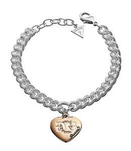 【送料無料】ブレスレット アクセサリ― ブレスレットguess bracelet hand chain ubb41005 silver plated