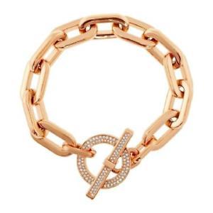 【送料無料】ブレスレット アクセサリ― ミハエルローズゴールドチェーンブレスレット authentic michael kors rose gold cityscape chains bracelet mkj4865791
