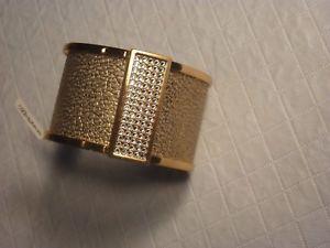 【送料無料】ブレスレット アクセサリ― ブライトンクリストドナウカフスブレスレットwゴールド98brighton christo danube wide cuff bracelet gold w gold leather insert 98