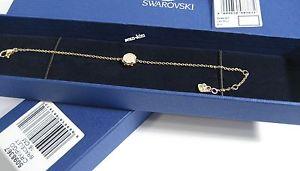 【送料無料】ブレスレット アクセサリ― スワロフスキーボルトマイクロブレスレットクリスタルswarovski bolt micro bracelet, goldplated crystal authentic mib 5098367