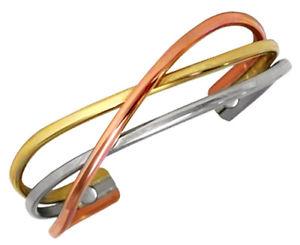 【送料無料】ブレスレット アクセサリ― セルジオカフブレスレットスワールsergio lub magnetic cuff bracelet copper swirl magnetic medium
