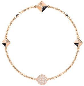 【送料無料】ブレスレット アクセサリ― スワロフスキーリミックスローズゴールドブレスレットドルswarovski 5352537 remix boundless rose gold bracelet 175cm rrp99