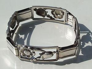 【送料無料】ブレスレット アクセサリ― ブレスレットアールデコシルバーnice bracelet has deco floral silver 9301000 19cm length