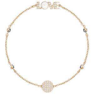 【送料無料】ブレスレット アクセサリ― スワロフスキーリミックスゴールドブレスレットドルswarovski 5353846 remix gold love boundless bracelet 175cm rrp99