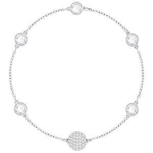 【送料無料】ブレスレット アクセサリ― スワロフスキーリミックスシルバーブレスレットドルswarovski 5352726 remix boundless silver bracelet 175cm rrp99