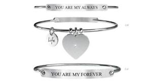 【送料無料】ブレスレット アクセサリ― カップルブレスレットスチールyoung adult couple bracelets steel kanoalways amp; forever 731054l