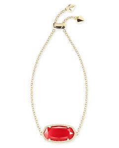 【送料無料】ブレスレット アクセサリ― スコットレッドゴールドメッキデイジーチェーンブレスレットkendra scott daisy chain bracelet in red and gold plated