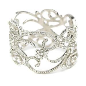 【送料無料】ブレスレット アクセサリ― ベリスタルスワロフスキークリスタルブレスレットbella krystal swarovski crystal bracelet bridal wedding