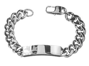 【送料無料】ブレスレット アクセサリ― guess braccialebracciale umb81004 cinturino in acciaio accessorio da uomo
