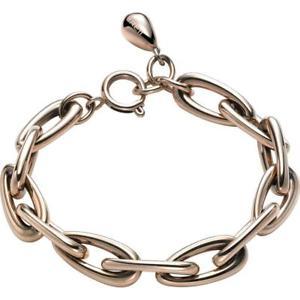 【送料無料】ブレスレット アクセサリ― ブレスレットスチールステンレススチールピンクゴールドチェーンbracelet woman breil steel rain tj1632 stainless steel pink gold chain