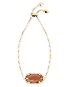 【送料無料】ブレスレット アクセサリ― スコットゴールドストーンゴールドメッキデイジーチェーンブレスレットkendra scott daisy chain bracelet in goldstone and gold plated