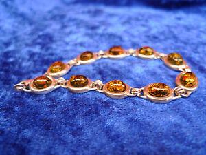 【送料無料】ブレスレット アクセサリ― ブレスレットオレンジsublime, old bracelet __ with amber silver gelblichem ___ 925 ______