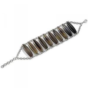【送料無料】ブレスレット アクセサリ― ブレスレットホーンスチールナチュラルホルンsyu20 morellato bracelet horn steel natural horn women lady dd