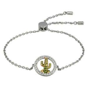 【送料無料】ブレスレット アクセサリ― スワロフスキーサボテンブレスレットswarovski lena cactus bracelet