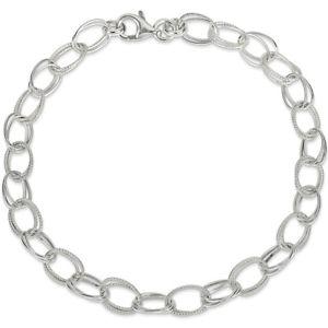 【送料無料】ブレスレット アクセサリ― スターリングシルバーダブルチェーンリンクブレスレット925 sterling silver chunky double chain link ankle bracelet