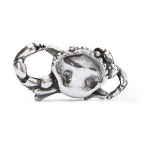【送料無料】ブレスレット アクセサリ― カバーシルバーカニtrollbeads closure silver crab taglo 00057