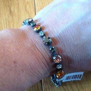 【送料無料】ブレスレット アクセサリ― ラインストーンレトロブレスレットクール nwt sabika rhinestone edition retro cool bracelet only winter 2013