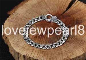 【送料無料】ブレスレット アクセサリ― スターリングシルバーファッショントレンドシンボルブレスレットpure s925 sterling silver fashion trend symbols amulet bracelet