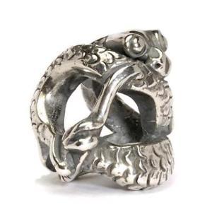 【送料無料】ブレスレット アクセサリ― オリジナルビーズシルバードラゴンtrollbeads original beads silver small dragon tagpe 00028