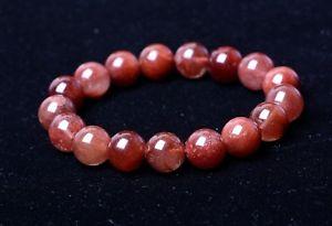 【送料無料】ブレスレット アクセサリ― レッドゴールドルチルブレスレットnatural red gold rutilated quartz crystal woman cure powerful bracelet 125mm