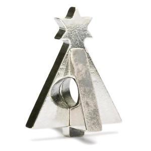 【送料無料】ブレスレット アクセサリ― オリジナルビーズシルバークリスマスツリーtrollbeads original beads silver christmas tree tagbe 40033