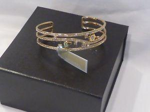 【送料無料】ブレスレット アクセサリ― ミハエルクリスタルカフゴールドトーンブレスレットドルauthentic michael kors crystal cuff gold tone bracelet mkj7155710 nwt 125