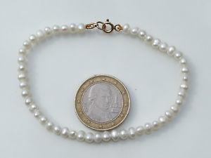 【送料無料】ブレスレット アクセサリ― パールゴールドファスナーブレスレットnice bracelet with real pearlgold fastener 18k 750length 18,5cm