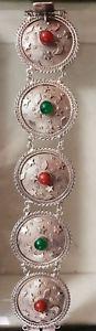 【送料無料】ブレスレット アクセサリ― ソリッドシルバーモチーフレディースブレスレットimpressive womens bracelet in solid silver 800 moon and star motif refv 812