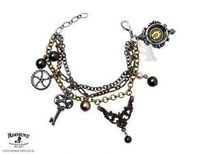 【送料無料】ブレスレット アクセサリ― ミセスハドソンセラーキーブレスレットゴシックmrs hudsons cellar keys steampunk bracelet alchemy gothic alchemy empire