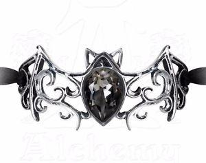 【送料無料】ブレスレット アクセサリ― ウィーンナストロアズネロviennese notti nastro nero bracciale decorativo cristallo pipistrello