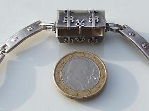 【送料無料】ブレスレット アクセサリ― ボックスシルバーブレスレットbeautiful 925 silver bracelet with small box has secret 19,5cm length