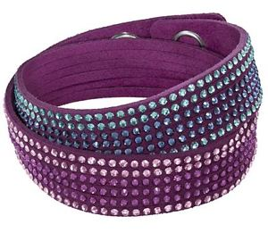 【送料無料】ブレスレット アクセサリ― スワロフスキーブレスレットフクシアクリスタルswarovski slake fuchsia 2 in 1 bracelet, crystal authentic mib 5202465