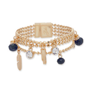 【送料無料】ブレスレット アクセサリ― ビビブレスレット bibi bijoux navy charm bracelet