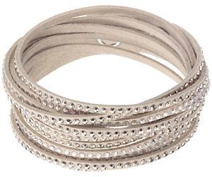 【送料無料】ブレスレット アクセサリ― スワロフスキー5043495ベージュブレスレット3638cm rrp99swarovski 5043495 slake beige bracelet, 3638cm rrp 99