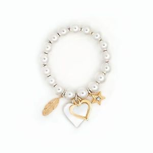 【送料無料】ブレスレット アクセサリ― ボールサレ bibi bibi bijoux gold chunky ball beaded bracelet