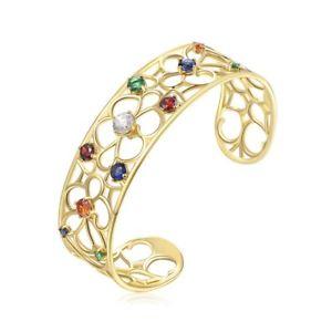 【送料無料】ブレスレット アクセサリ― ブレスレットコリントスゴールデンbrosway bracelet, rigid corinth golden brass and swarovsky boi12,