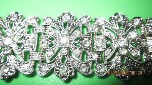 【送料無料】ブレスレット アクセサリ― ロマンスラインストーンブレスレットsweet romance rhinestone bracelet