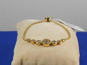 【送料無料】ブレスレット アクセサリ― ミハエルステンレススチールベゼルプーリブレスレットmichael kors goldtone stainless steel brilliance bezel crystal pulley bracelet