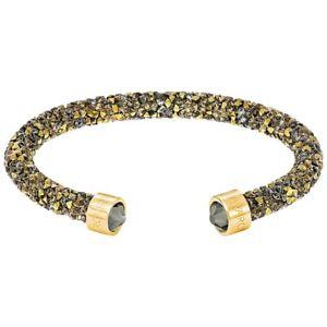 【送料無料】ブレスレット アクセサリ― スワロフスキーブレスレットゴールドカラーブレスレットサイズswarovski bracelet crystaldust 5372883 5348101 gold color [bracelet size s 51