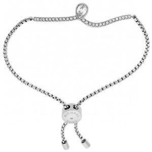 【送料無料】ブレスレット アクセサリ― ミハエルシルバーブレスレットレディースブレスレットmichael kors brilliance silver pear stone bracelet ladies bracelet mkj7108040