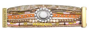 【送料無料】ブレスレット アクセサリ― ブレスレットゴールドアムールサイズhipanema bracelet goldamour gold amour boho armkette size s armkette