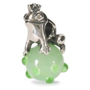 【送料無料】ブレスレット アクセサリ― trollbeadsオリジナルドイツtagbe 00012trollbeads original beads germany froggy prince tagbe 00012