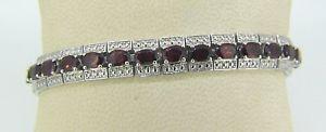 【送料無料】ブレスレット アクセサリ― グラムスターリングシルバーガーネットブレスレット231 grams sterling silver 7 18 garnet bracelet q151