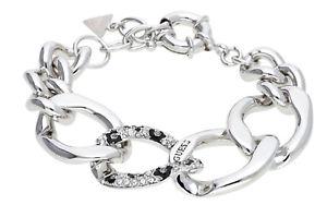 【送料無料】ブレスレット アクセサリ― レディースブレスレットシルバーguess ladies bracelet metal silver ubb51474l