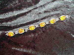 【送料無料】ブレスレット アクセサリ― ブレスレットsublime, old bracelet __ amber __ 835 silver ___