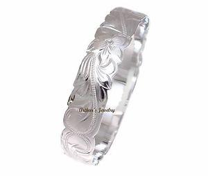 【送料無料】ブレスレット アクセサリ― アージェントブレスレットプルメリアargent 925 hawaen bracelet princesse plumeria fleur volutes dcoupes 12mm